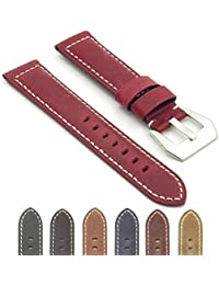 637f6cb2a Amazon.com: Red - Watch Bands / Watches: Clothing, Shoes & Jewelry