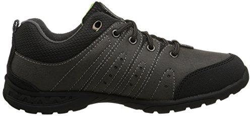 Columbia YOUTH ADVENTURER - zapatillas de trekking y senderismo de piel Niños^Niñas Gris Grau (Graphite 053)