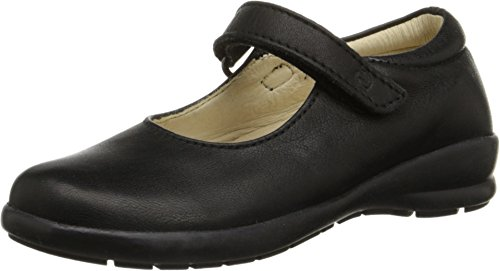 Price comparison product image Naturino Girl's Nat. 4465 (Toddler/Little Kid/Big Kid) Black Leather Flat 24 (US 8.5 Toddler) M