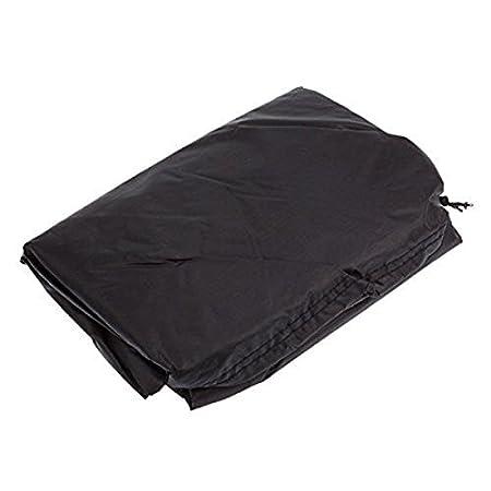 Impermeable barbacoa parrilla protectora barbacoa cubierta con bolsa de almacenamiento tamaño L (negro): Amazon.es: Hogar