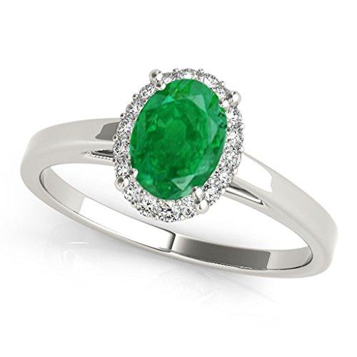 0.55 Ct Emerald Cut Diamond - 8