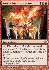 Magic: the Gathering - Knollspine Invocation - -