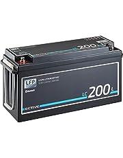 ECTIVE LC200L BT 12V 200Ah 2560Wh LiFePO4-accu met Bluetooth-functie Lithium-ijzerfosfaat accu inclusief app