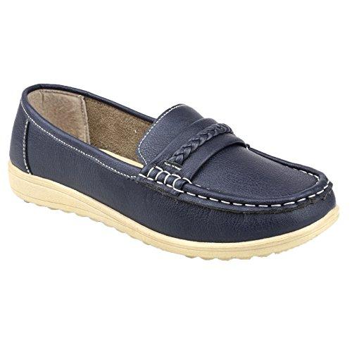 Metalizado Modelo Mujer Thames Estilo Zapatos Para Amblers Gris Mocasín qaT8p4w