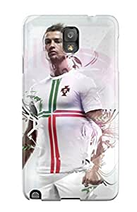 Premium Cristiano Ronaldo Hd Back Cover Snap On Case For Galaxy Note 3