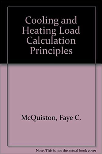 Cooling and Heating Load Calculation Principles: Faye C