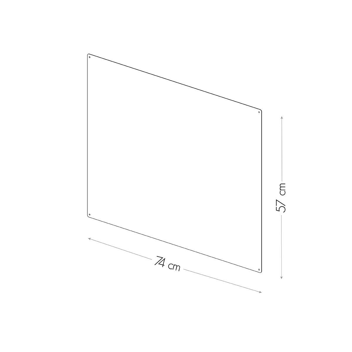 Amazon.com: KalaMitica Steel Magnetic Chalkboard. Dimensions 74x57x0 ...