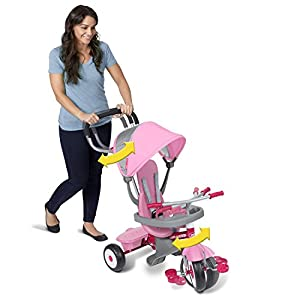 Radio Flyer 4-in-1 Stroll 'N Trike Pink