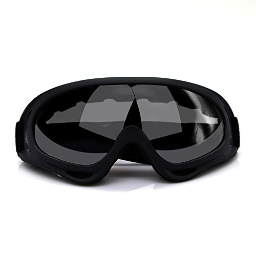 ActionEliters Adjustable UV Protective Outdoor Glasses Motorcycle Goggles Dust-proof Protective Combat Goggles Military Outdoor Tactical Goggles to Prevent Particulates and Fog