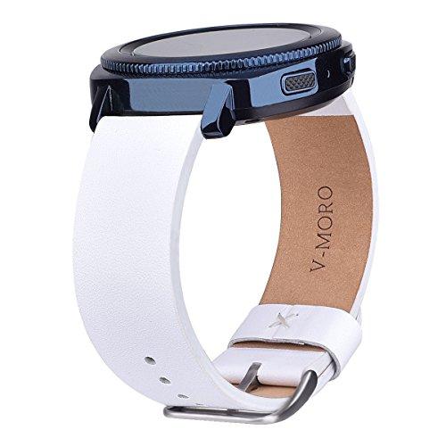 SM R600 Leather Bracelet Samsung Smartwatch