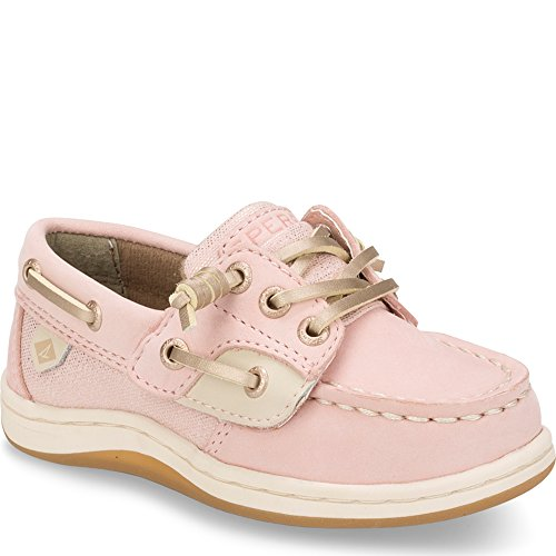 Sperry Girls' Songfish A/C Boat Shoe (Toddler/Little Kid),Blush,5.5 Medium US Toddler