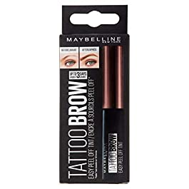 Maybelline Tattoo Brow Longlasting Tint, Dark Brown, 4.9 ml