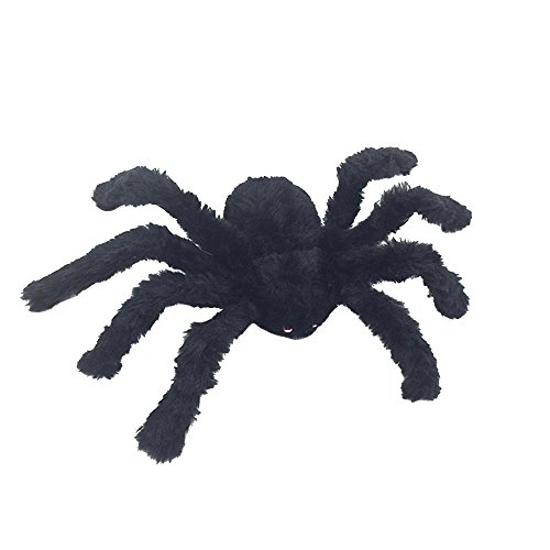 Keebgyy Long Plush Spider for Halloween Decoration, Scary Spider Toys for Kids Halloween Party Decorations or Haunted House Decor by Keebgyy