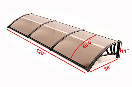Review MCombo 40″×120″ Window Awning