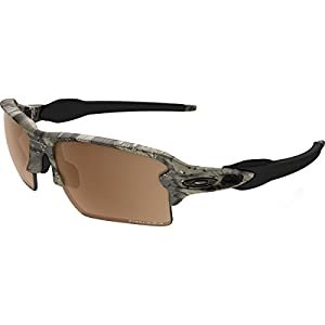 Oakley Men's Flak 2.0 XL Polarized Sunglasses,Brown