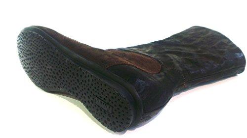 Think Kurzstiefel, Größe 36, Antikleder schoko, herausnehmbares Fußbett für eigene lose Einlagen, 81119-53