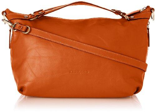 Kesslord Womens Dora Top-Handle Bag Orange (Orange)