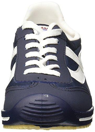 PANAM Klassischer Tennisschuh Navy blau