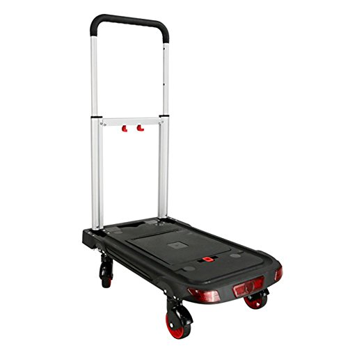 Sack Truck Compact - NAN Liang Platform Truck Platform Trolley Folding Cart Heavy-Duty 90 kg Load Capacity Indoor and Outdoor Travel Shopping Office Warehouse Cart
