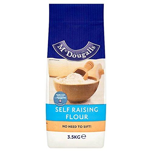 3,5 kg de harina con levadura McDougalls Auto (paquete de 4 x 3