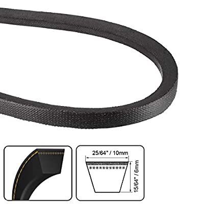 uxcell M27 Drive V-Belt Girth 27-inch Industrial Power Rubber Transmission Belt: Automotive