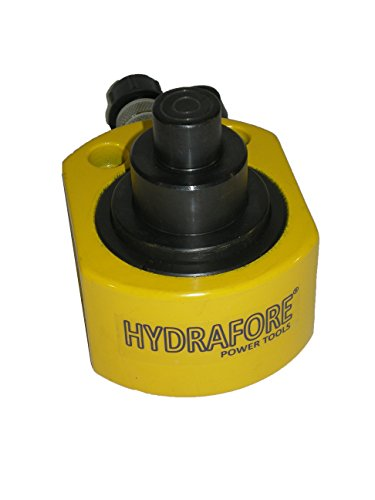 30 tons 2.12'' stroke Multi stage Low Height Hydraulic Cylinder Jack Ram YG-30D by HYDRAFORE (Image #3)