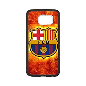 Samsung Galaxy S6 Cell Phone Case White Barcelona Football Hspi