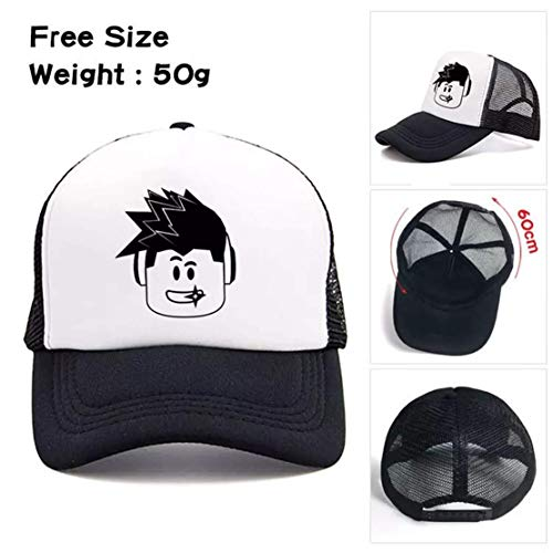 GoodLuck97 Kids Roblox Baseball Cap Galaxy Student Travel Hat for Boys Girls Teenagers Game Gift