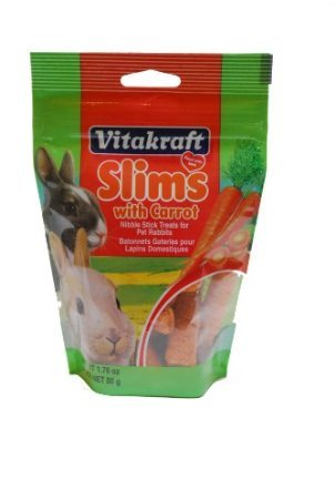 Vitakraft-Pet-Rabbit-Slims-with-Carrot-Nibble-Stick-Treat-176-Ounce-Pouch