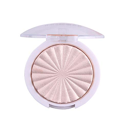 Chenchen Itd Cosmetic Cream,3D Shimmer Highlighter Face Powder Palette Face Base Shine Illuminator Makeup,Face - Cover Concealer Buildable