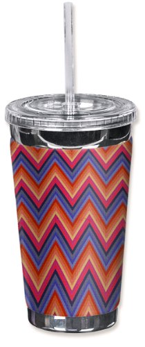 Ounce Tumbler 16 Elk - Mugzie brand 16-Ounce To Go Tumbler with Insulated Wetsuit Cover - Elk's