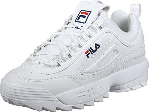 Heritage Disruptor W Chaussures Low Fila White dQBerCoWx