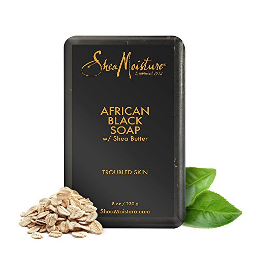 SheaMoisture African Black Soap Bar Soap | 8 oz.