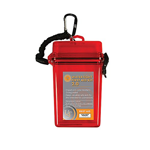 UST Watertight First Aid Kit 2.0, Red