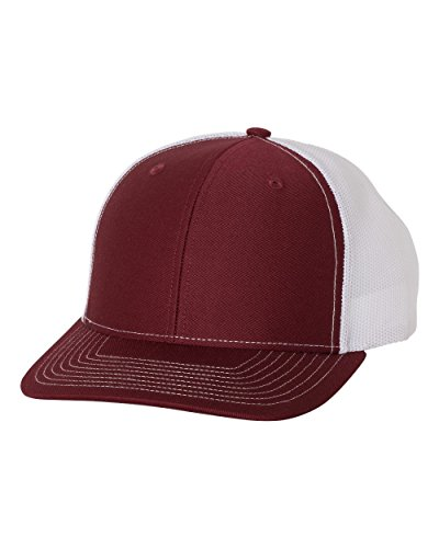 Richardson 112 Mesh Back Trucker Cap Snapback Hat, ()