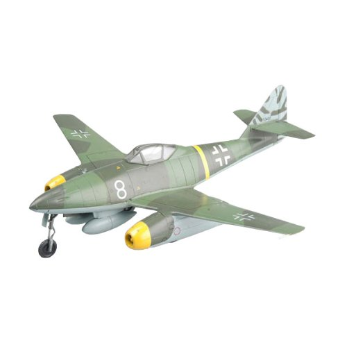 "Easy Model Me 262A-1a, ""White 8"", Flown by Kommando Nowotny, Achmer, November 1944 Airplane Model Building Kit"