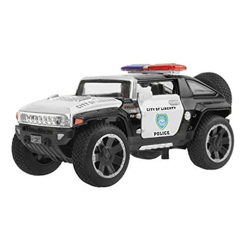 chic kids die cast metal playset toy vehicle models cool hx concept fire rescue police car truck with light sound 132 scaled best christmas birthday - Cool Christmas Toys