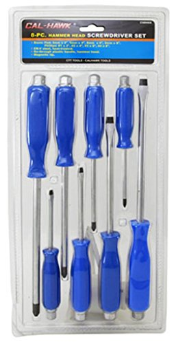 8-pc. Hammer Head Screwdriver Set ()