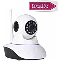 GERI Wireless Network IP Camera Indoor Wifi HD Two-way talk P2P Pan Tilt 720P IR night vision