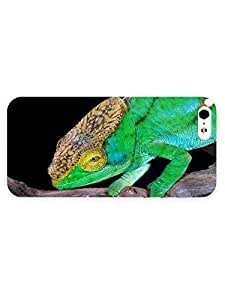 3d Full Wrap Case for iPhone 5/5s Animal Chameleon87