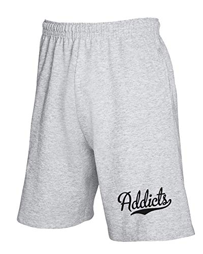 Baseball Tuta Grigio Addicts shirtshock Pantaloncini T Softball Fun0497 wxYqRFqEt