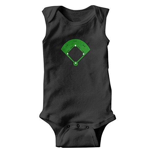 epoyseretrtgty Sleeveless Baby Girl' Baseball Field Cheap Clothes