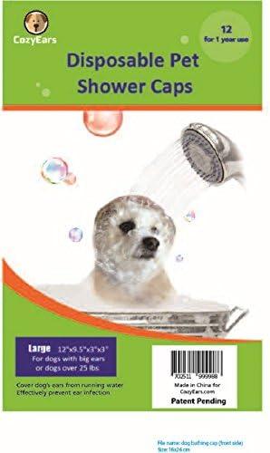 Amazon.com: Tapones de ducha desechables para mascotas ...