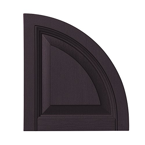 Ply Gem Shutters and Accents ARCH15RP IJ Raised Panel Arch Top 15