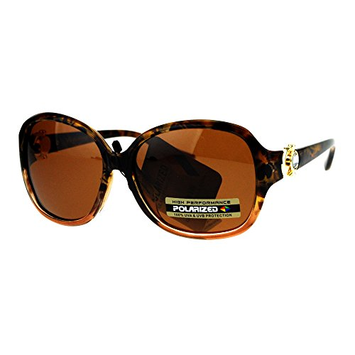 Womens Polarized Lens Sunglasses Horseshoe Rhinestone Design Light - Sunglasses Horse