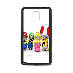 Printed Quotes Phone Case Super Mario Bros For Samsung Galaxy Note 4 N9100 Q5A2112636