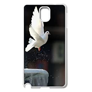 JamesBagg Phone case White dove pattern For Samsung Galaxy NOTE3 Case Cover FHYY405378