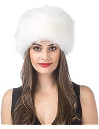 40999cea32b30f Women Men Winter Thick Fur Russian Hat Warm Soft Earmuff