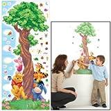 : Disney Winnie The Pooh & Friends Decorative Growth Chart New Sealed