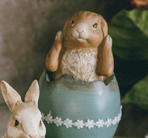 SRX 灰皿、ウサギの装飾リビングルーム樹脂創造的研究テレビキャビネットオフィス